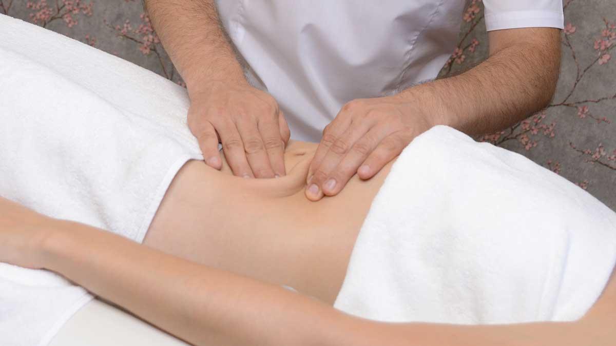 Лимфодренажный массаж живота
